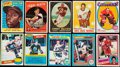 Baseball Cards:Lots, 1950's - 1980's Multiple Sports Hall of Famers Card Collection(10). ...