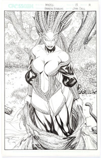 Brandon Peterson and John Dell Mystic Panel Pages Original Art Group of 11 (CrossGen, 2000-2001).... (Total: 10 Original...