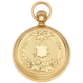 Estate Jewelry:Watches, Waltham Royal Gold Pocket Watch. ...