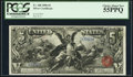 Large Size:Silver Certificates, Fr. 268 $5 1896 Silver Certificate PCGS Choice About New 55PPQ.....