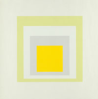 Josef Albers (1888-1976) Joy, from Portfolio of Homage to South, 1962 Screenprint in colo