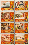 """Movie Posters:Science Fiction, Robinson Crusoe on Mars (Paramount, 1964). Lobby Card Set of 8 (11""""X 14""""). Science Fiction.. ... (Total: 8 Items)"""