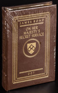 """Movie Posters:James Bond, On Her Majesty's Secret Service By Ian Fleming (Easton Press, 2005). Sealed Hardcover Book (Multiple Pages, 5.25"""" X 7.5""""). J..."""