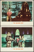 "Movie Posters:Science Fiction, The Invisible Boy (MGM, 1957). Lobby Cards (2) (11"" X 14""). ScienceFiction.. ... (Total: 2 Items)"