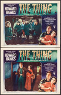 """Movie Posters:Science Fiction, The Thing from Another World (RKO, 1951). Lobby Cards (2) (11"""" X14""""). Science Fiction.. ... (Total: 2 Items)"""