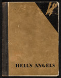"Movie Posters:War, Hell's Angels (United Artists, 1930). Hardcover Program (MultiplePages, 5"" X 7""). War.. ..."