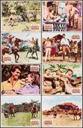 """Movie Posters:Adventure, Africa - Texas Style! & Other Lot (Paramount, 1967). Lobby Card Sets of 8 (2) (11"""" X 14""""). Adventure.. ... (Total: 16 Items)"""