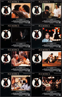 "Moonstruck (MGM, 1987). International Lobby Card Set of 8 (11"" X 14""). Comedy. ... (Total: 8 Items)"