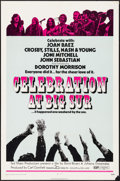 "Movie Posters:Rock and Roll, Celebration at Big Sur & Other Lot (20th Century Fox, 1971). One Sheets (2) (27"" X 41""). Rock and Roll.. ... (Total: 2 Items)"