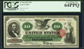 Large Size:Legal Tender Notes, Fr. 95b $10 1863 Legal Tender PCGS Very Choice New 64PPQ.