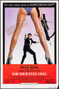 """Movie Posters:James Bond, For Your Eyes Only (United Artists, 1981). Folded, Fine/Very Fine. One Sheet (27"""" X 41""""). James Bond.. ..."""