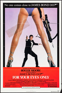 "For Your Eyes Only (United Artists, 1981). Folded, Fine/Very Fine. One Sheet (27"" X 41""). James Bond"