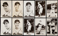 Autographs:Post Cards, Cleveland Indians Vintage Postcard Lot of 55 - 1 Signed, Multiple Featured on Cards.. ...