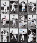 Autographs:Post Cards, 1970s Cleveland Indians Signed Postcard Lot of 24. ...