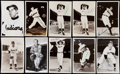 Autographs:Post Cards, C. 1940s-1960s Cleveland Indians Vintage Postcard Lot of 20. ...