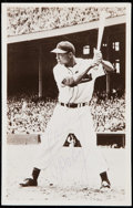 Autographs:Post Cards, Larry Doby Signed Postcard, Image Used on Multiple Cards.. ...