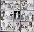 Autographs:Post Cards, 1960s Cleveland Indians Signed Postcard Lot of 33. ...