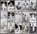 Autographs:Post Cards, 1960s Cleveland Indians Postcard Lot of 56.. ...