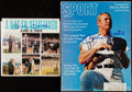 """Autographs:Photos, Mickey Mantle Signed """"Sport"""" Magazine and Record.. ..."""