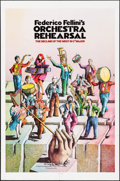 """Movie Posters:Foreign, Orchestra Rehearsal (New Yorker Films, 1978). One Sheet (27"""" X 41""""). Foreign.. ..."""