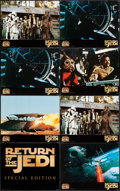 "Movie Posters:Science Fiction, Return of the Jedi (20th Century Fox, R-1997). Special Edition Jumbo Lobby Cards (12) (16"" X 20""). Science Fiction.. ... (Total: 12 Items)"