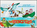 "Movie Posters:Animation, The Rescuers (Buena Vista, 1977). British Quad (30"" X 40""). Animation.. ..."
