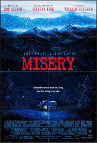 "Misery & Other Lot (Columbia, 1990). Folded, Very Fine+. One Sheet (26.75"" X 39.75"") & International L..."