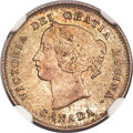Canada, Canada: Victoria 5 Cents 1897 MS64 NGC,...