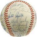 Autographs:Baseballs, 1988 AL All-Star Team Signed Baseball. The 1988 installment of theannual MLB All-Star game was a low-scoring affair, with ...