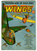 Golden Age (1938-1955):War, Wings Comics #8 (Fiction House, 1941) Condition: VG+....