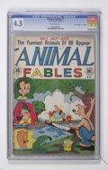 "Golden Age (1938-1955):Funny Animal, Animal Fables #1 Davis Crippen (""D"" Copy) pedigree (EC, 1946) CGCVG+ 4.5 Off-white pages...."