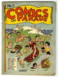 Golden Age (1938-1955):Humor, Comics On Parade #5 (United Features Syndicate, 1938) Condition: GD/VG....