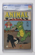 "Golden Age (1938-1955):Funny Animal, Animal Comics #15 Davis Crippen (""D"" Copy) pedigree (Dell, 1945)CGC VF/NM 9.0 Cream to off-white pages...."