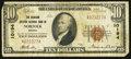 National Bank Notes:Virginia, Norfolk, VA - $10 1929 Ty. 1 The Seaboard Citizens NB Ch. # 10194....