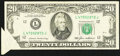"Error Notes:Foldovers, ""Butterfly"" Error Fr. 2075-L $20 1985 Federal Reserve Note. VeryFine.. ..."