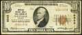 National Bank Notes:Virginia, Danville, VA - $10 1929 Ty. 1 American NB & TC Ch. # 9343. ...