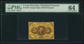 Fractional Currency:First Issue, Fr. 1230 5¢ First Issue PMG Choice Uncirculated 64.. ...