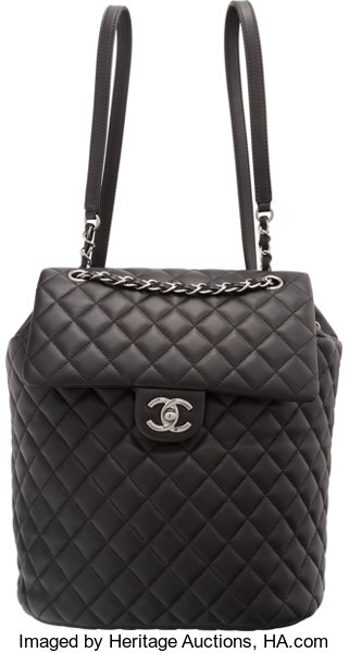... Luxury Accessories Bags, Chanel Black Lambskin Leather Classic Quilted  Urban Spirit Backpackwith Ruthenium Hardware ... 2242363d17
