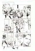 Original Comic Art:Panel Pages, Gary Frank and Jon Sibal Superman Secret Origin #6 StoryPage 9 Original Art (DC, 2010)....