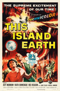 "Movie Posters:Science Fiction, This Island Earth (Universal International, 1955). One Sheet (27"" X41"") Reynold Brown Artwork.. ..."