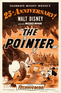 "Movie Posters:Animation, The Pointer (RKO, R-1953). 25th Anniversary One Sheet (27"" X 41"")....."