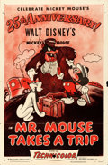 """Movie Posters:Animation, Mr. Mouse Takes a Trip (RKO, R-1953). 25th Anniversary One Sheet(27"""" X 41"""").. ..."""