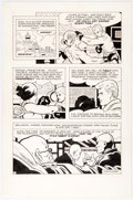 Original Comic Art:Panel Pages, Pete Morisi Comic Cavalcade Weekly Unpublished Peter Cannon:Thunderbolt Story Page 2 Original Art (DC, c. 1983)....