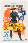 "Movie Posters:Adventure, North West Mounted Police & Other Lot (Paramount, R-1958). One Sheets (2) (27"" X 41""). Adventure.. ... (Total: 2 Items)"