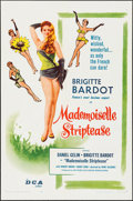 """Movie Posters:Foreign, Mademoiselle Striptease (DCA, 1956). One Sheet (27"""" X 41""""). Foreign.. ..."""