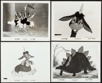 "Fantasia (RKO, 1941). Very Fine-. Fantasound Roadshow Photos (4) (8"" X 10""). Animation. ... (Total: 4 Items)"