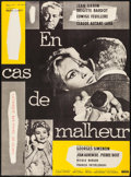 "Movie Posters:Sexploitation, Love is My Profession (Cinedis, 1959). French Moyenne (22.5"" X30.5""). Sexploitation.. ..."