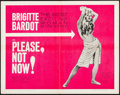 """Movie Posters:Foreign, Please, Not Now! (International Classics, 1963). Half Sheet (22"""" X 28""""). Foreign.. ..."""