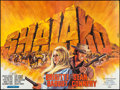 """Movie Posters:Western, Shalako (Cedic, 1968). French Four Panel (120.5"""" X 91.25""""). Western.. ..."""