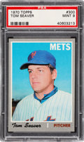 Baseball Cards:Singles (1970-Now), 1970 Topps Tom Seaver #300 PSA Mint 9....